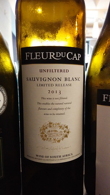Fleur du Cap Sauvignon Blanc Unfiltered 2013