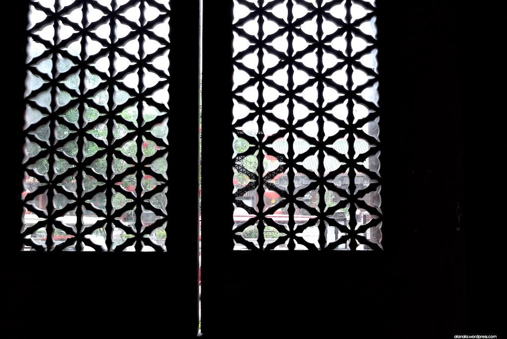 Patterned Window