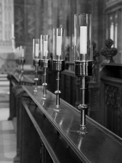 Choir candles