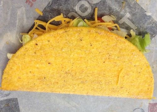 Taco Bell Spicy Chicken Cool Ranch Doritos Locos Taco