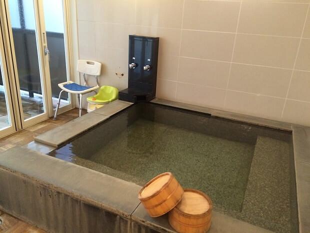 160703 鹿児島城山観光ホテルの貸切風呂2