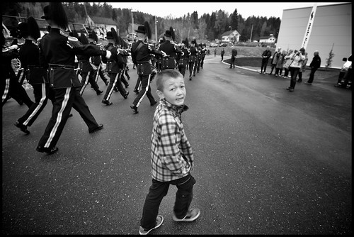 Marching with the Guard by Davidap2009