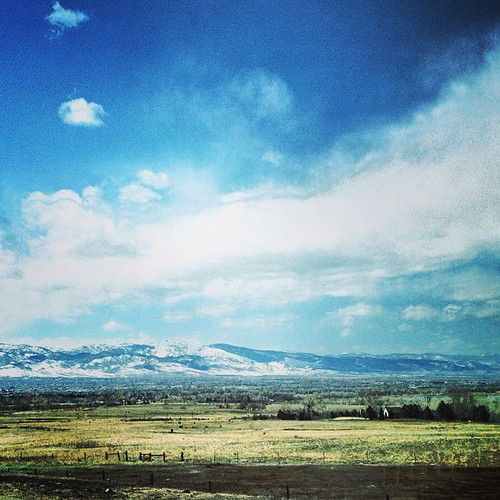 Farmland outside of Boulder #colorado by @MySoDotCom