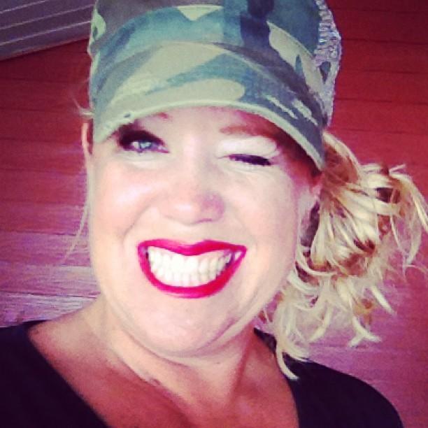It's a red lipstick kinda day! #lipstick #sassy #style #cowgirls