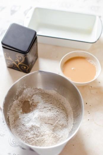 Black Tea and Cardamom Cake