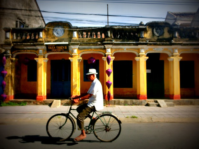 Biking in Hoi An, Vietnam