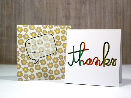 Thanks - with Envelope