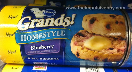 Pillsbury Grands! Homestyle Blueberry Biscuits