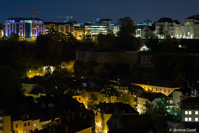 Luxembourg by Night - Grund