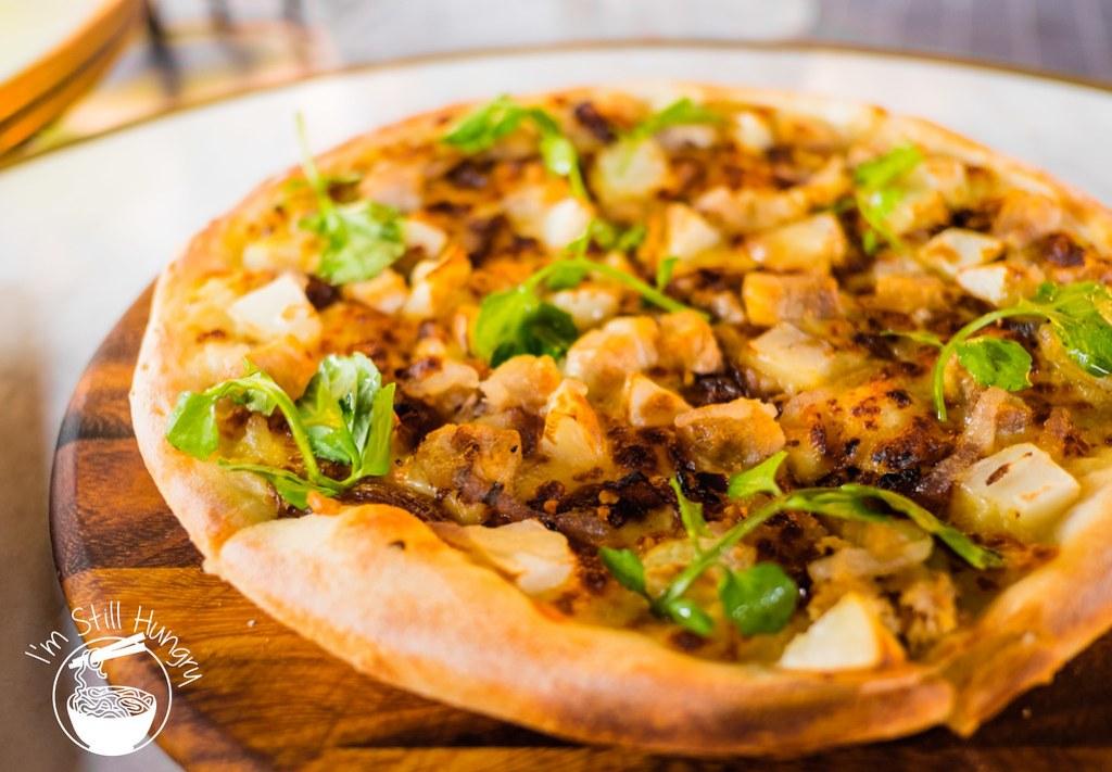 Vesta Italian pork belly pizza