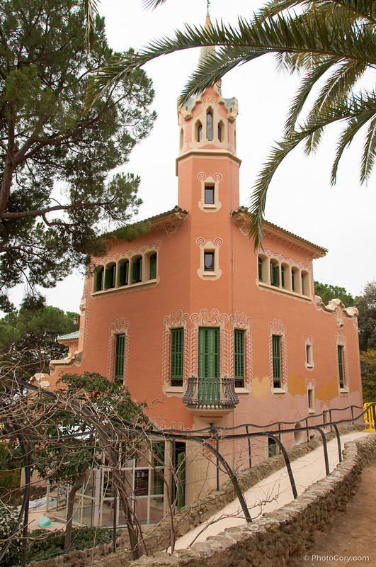 House in Guell Park, Barcelona