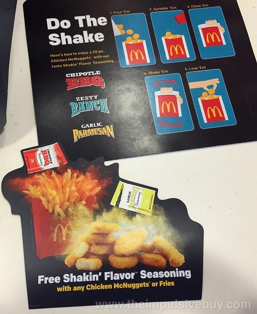 McDonald's Chipotle BBQ Flavor Seasoning