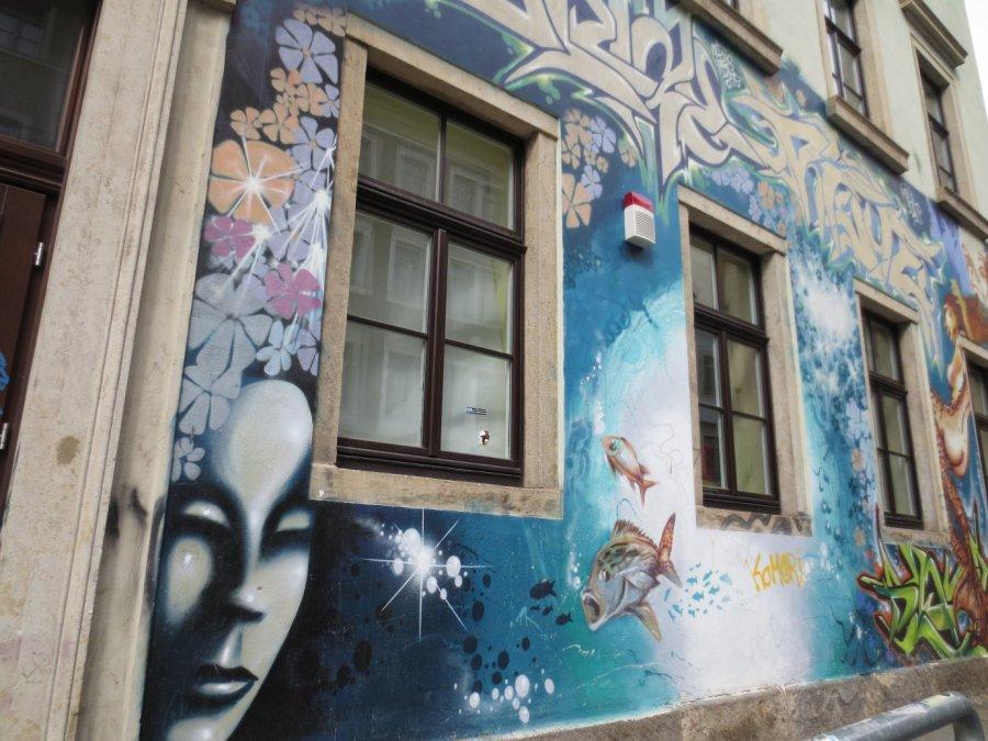 Street Dresden, foto door Epsilon