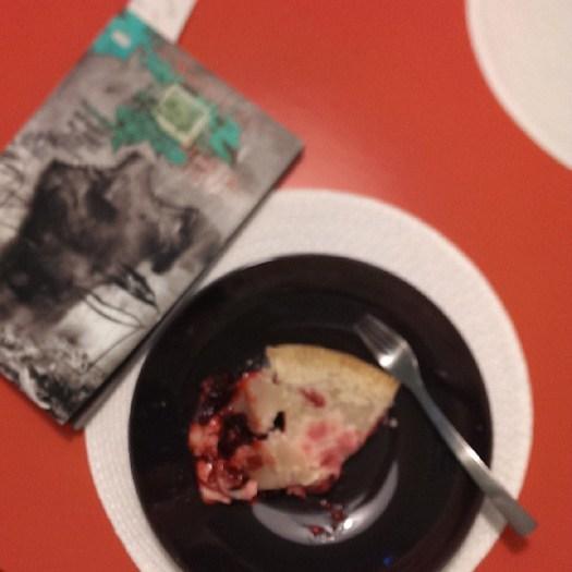 Eatin pie, readin comics, livin the dream