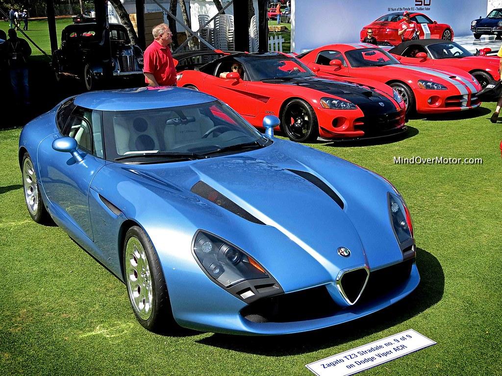 Blue Alfa Romeo TZ3