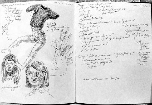 Sara Bloem Sketchbook