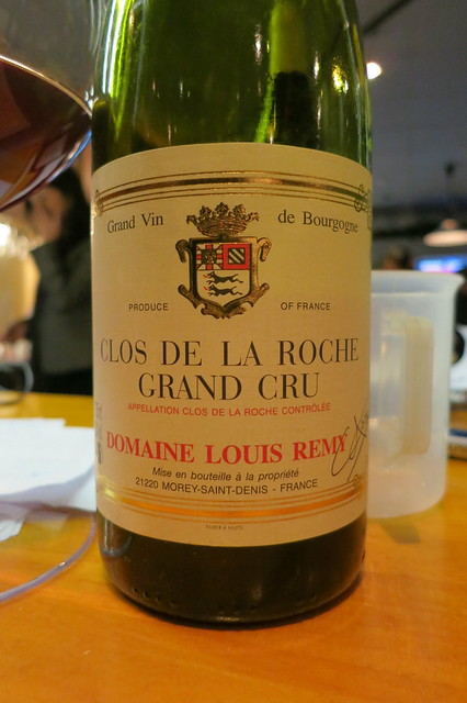 Domaine Louis Remy Clos de La Roche 1990