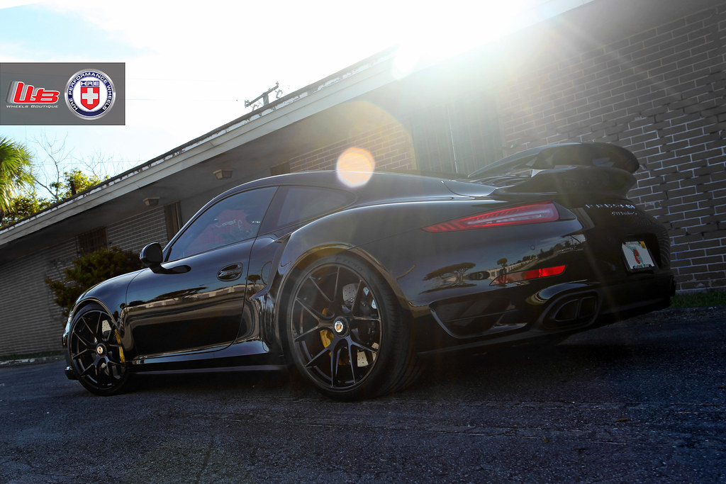 Porsche 991 Turbo S On HRE P101 CenterLock 6SpeedOnline