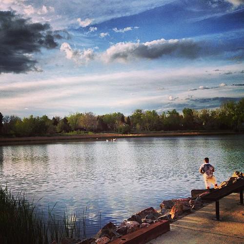 Kids fishing by @MySoDotCom