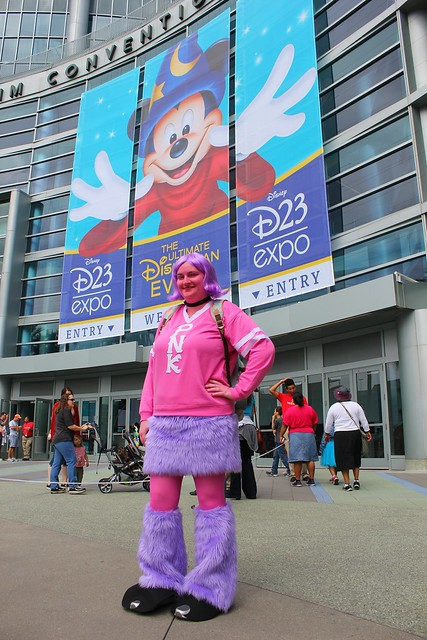 2013 D23 Expo Disney costumes and cosplay