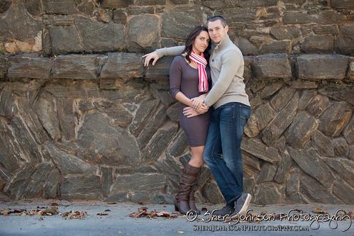 Brittany & Chris Piedmont Park Engagement Photo Session