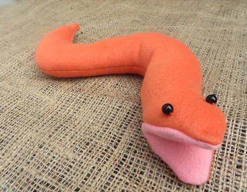 plush sea snake