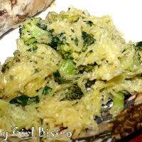 Summer's End with Greek Style Spaghetti Squash