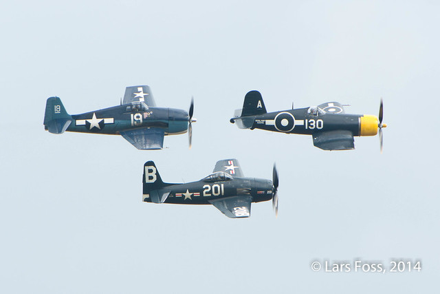 Corsair, BearCat and Hellcat