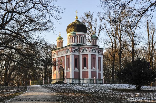 POTSDAM - Russische Kolonie Alexandrowka - Alexander-Newski-Gedächtniskirche