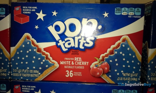 Kellogg's Frosted Red, White & Cherry Pop-Tarts