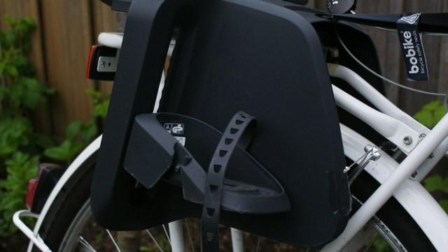 Bobike fietsstoeltje veiligheid voeten
