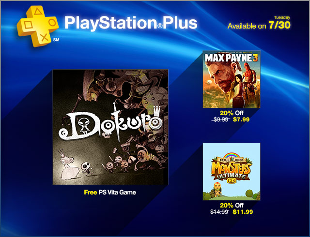 PlayStation Store Update 7-30-2013