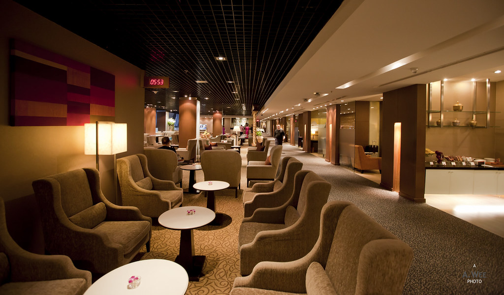 Royal Orchid First Class Lounge