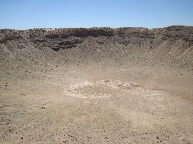 Picture from Meteor Crater, Arizona