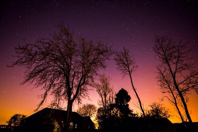 SUNSET & STARS