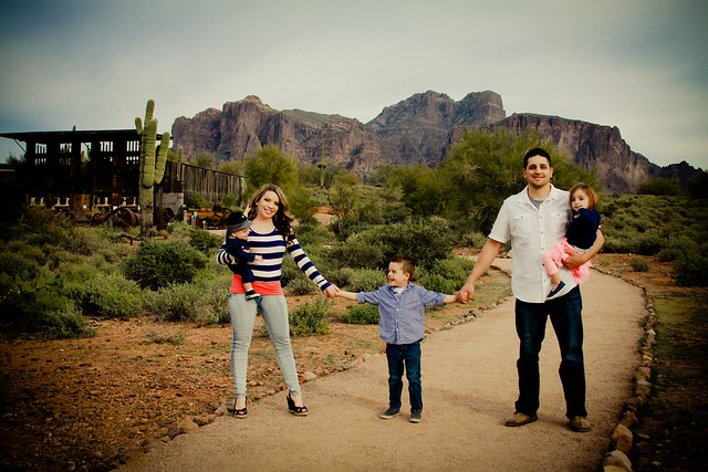 Family photos Superstition Mountain Museum