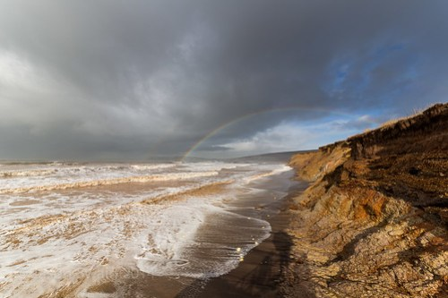 Rainbow over Compton Bay