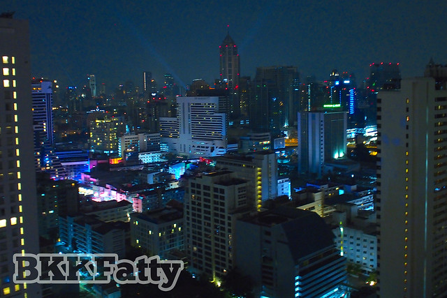 above eleven rooftop view of bangkok