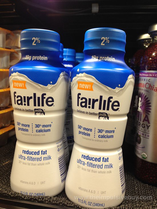 Fairlife Reduced Fat Ultra-Filtered Milk