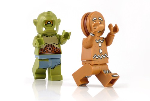 71002 LEGO Minifigures Series 11 06 Gingerbread Man 05