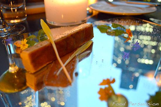 foie gras parfait - mosaic bar and grille