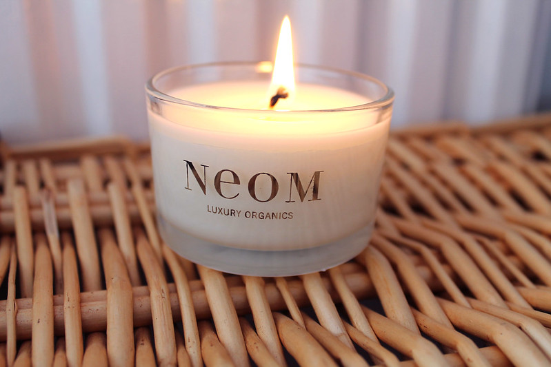 Neom travel candle