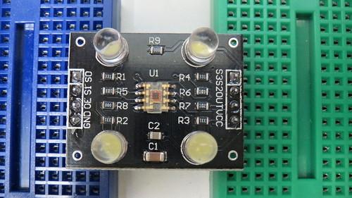 TCS230 カラーセンサー