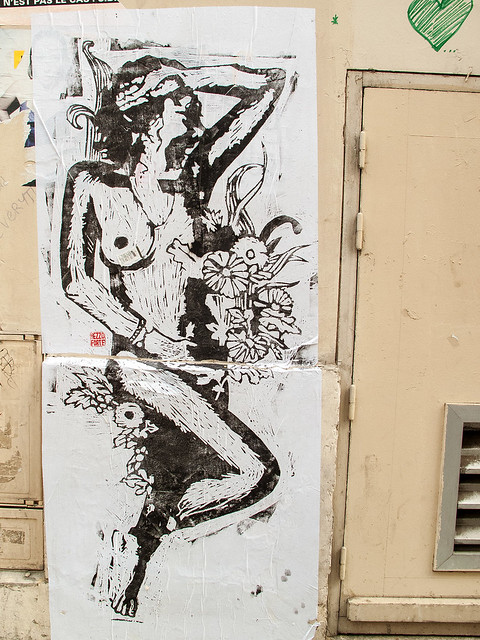 Lady - Wheatpaste