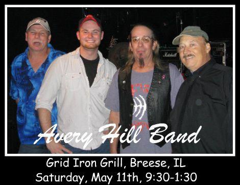 Avery Hill Band 5-11-13