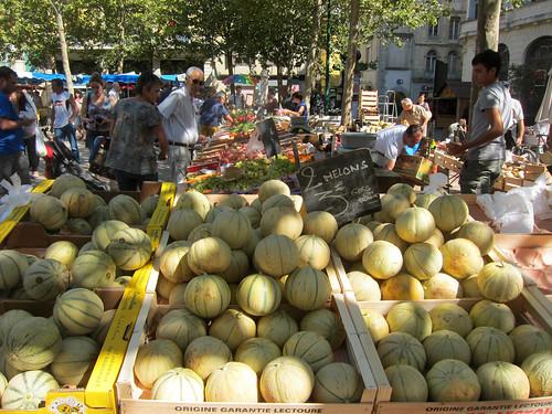 Melons were in season