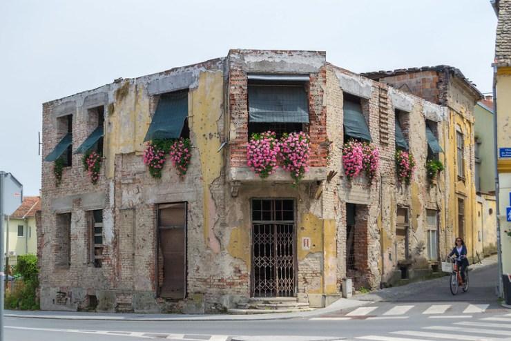 Vukovar War Torn Building
