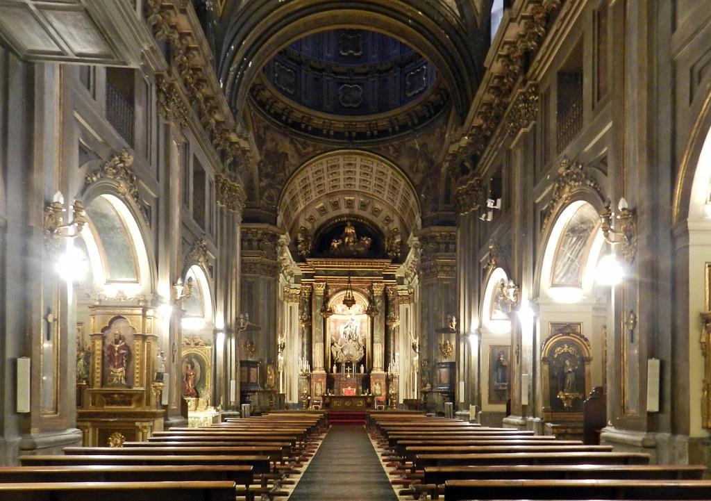 Madrid altar mayor interior Iglesia de San Jose 03