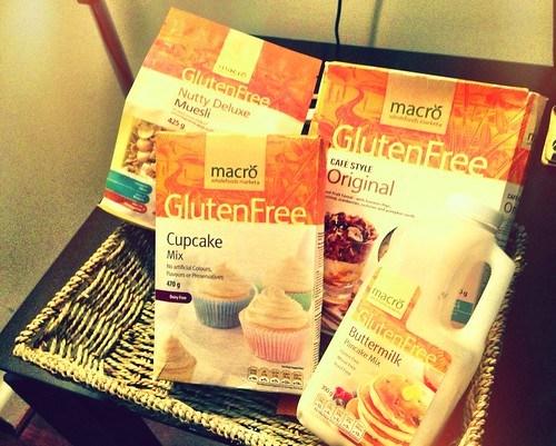 Woolworths Macro Gluten Free Range