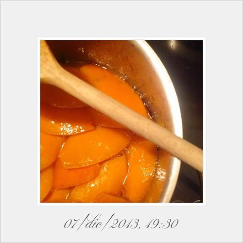 Spiced Orange Peel day three addensandosi lo sciroppo